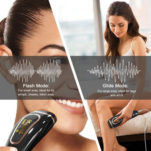 Professional Permanent IPL Hair Removal Laser Epilator For Women 999999 Flash LCD Display Bikini Ipl Laser Hair Removal Machine