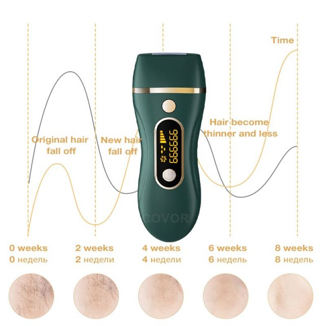 New 999999 Flashes  Home use IPL Epilato Permanent Hair Removal Photen Photoepilator depiladora Painless electric Epilator